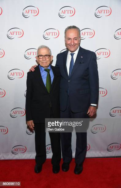 Owner Advance Publications Donald Newhouse and Sen Charles E Schumer attend The Association for Frontotemporal Degeneration's Hope Rising Benefit at...
