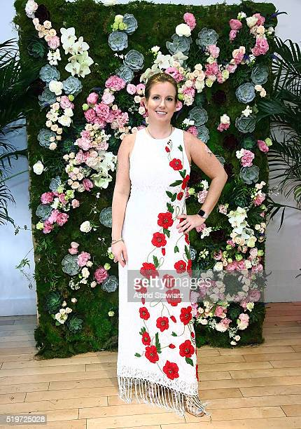 Owner and Lead Designer of B Floral Bronwen Smith hosts B Floral's Spring Festival Event at Studio Arte on April 7 2016 in New York City