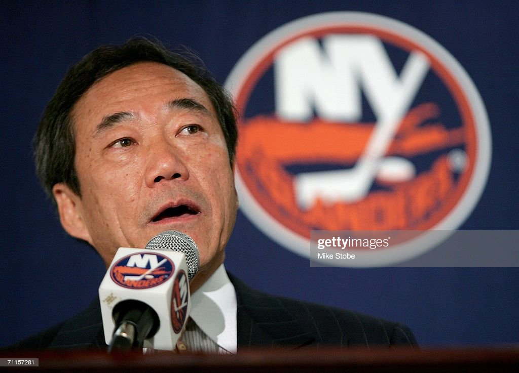 New York Islanders Introduce New Coach and GM : News Photo