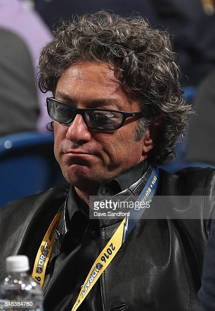 Owner Daryl Katz of the Edmonton Oilers attends round one of the 2016 NHL Draft at First Niagara Center on June 24 2016 in Buffalo New York