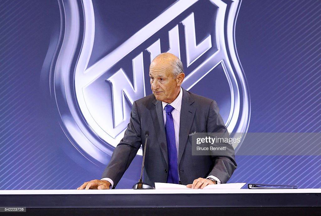 2016 NHL Awards - Board Of Governors Press Conference : Nachrichtenfoto
