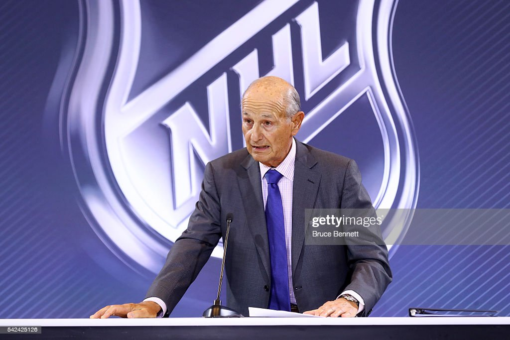 2016 NHL Awards - Board Of Governors Press Conference : News Photo