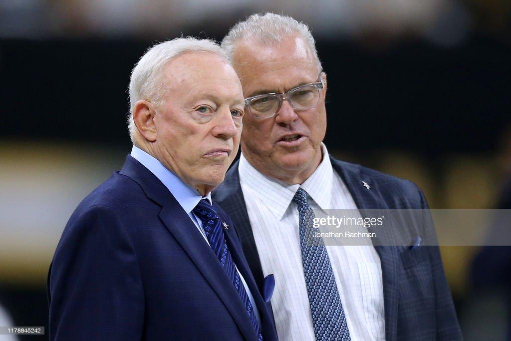 Dallas Cowboys vNew Orleans Saints : News Photo