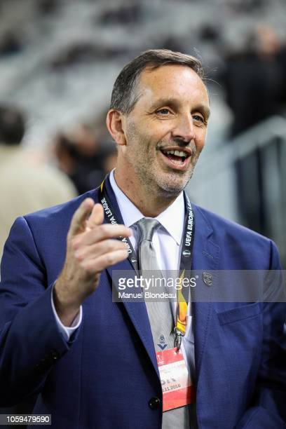 Owner Joseph DaGrosa of FC Girondins de Bordeaux during the UEFA Europa League match between Bordeaux and Zenith St Petersburg at Stade Matmut...