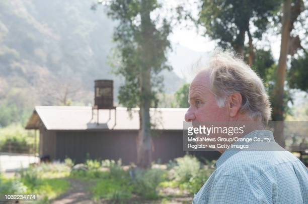 Owner Mark Christy walks around the recently approved overnight camping area at The Ranch in Laguna Beach on Friday October 14 2016 The resort in...