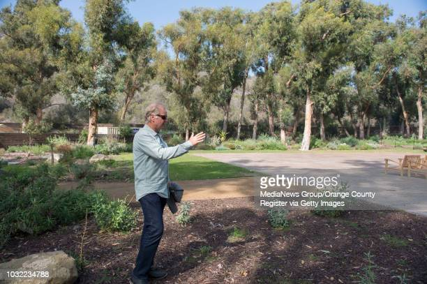 Owner Mark Christy walks around the recently approved overnight camping area at The Ranch in Laguna Beach, on Friday, October 14, 2016. The resort in...