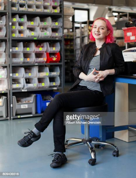Owner of Adafruit Industries Limor Fried is photographed for Bust Magazine on November 30 2015 in New York City PUBLISHED IMAGE
