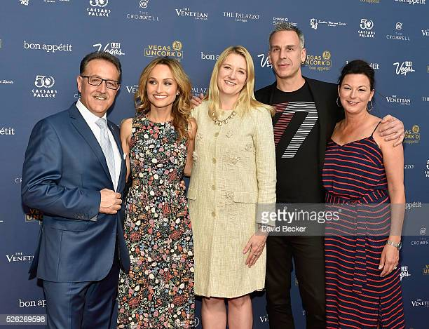 Owner of Bound by Salvatore chef Salvatore Calabrese chef Giada De Laurentiis Regional President of The Flamingo The LINQ and The Cromwell Eileen...