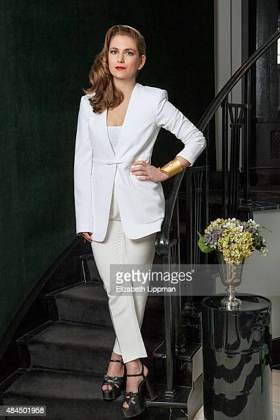 Owner of Fivestory, Claire Distenfeld is photographed for Vensette on April 8, 2015 in New York City.