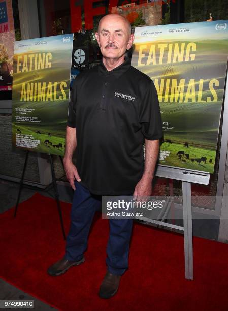 Owner of Good Shepherd Poultry Ranch Frank Reese attends 'Eating Animals' New York Screening at IFC Center on June 14 2018 in New York City