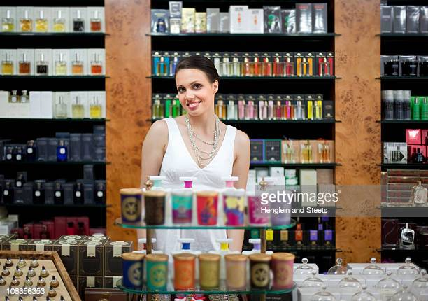Owner of perfume store