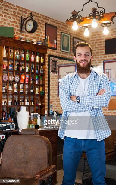 Owner of the Barber Shop