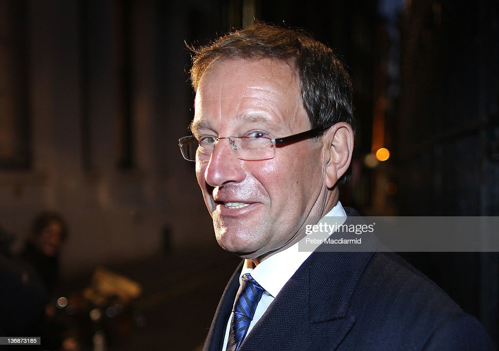 Richard Desmond Proprietor Of Express Newspapers Gives Evidence At the Leveson Inquiry : News Photo