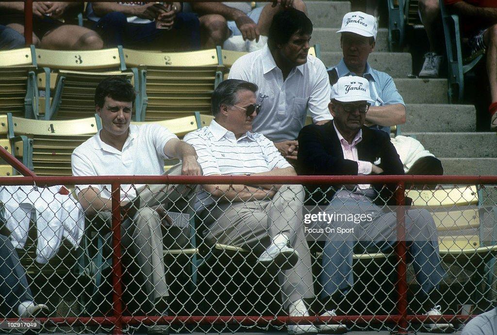 New York Yankees owner George Stienbrenner : Nachrichtenfoto