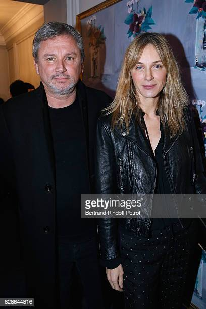 Owner of 'Zadig et Voltaire' Thierry Gillier and his wife Fashion designer of 'Zadig et Voltaire' Cecilia Bonstrom attend the Annual Charity Dinner...