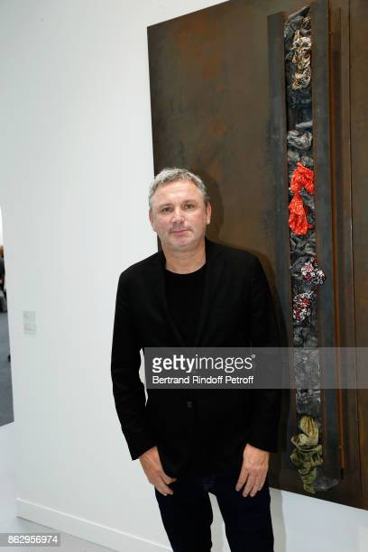Owner of 'Zadig et Voltaire' Thierry Gillier attends the FIAC 2017 International Contemporary Art Fair Press Preview at Le Grand Palais on October 18...