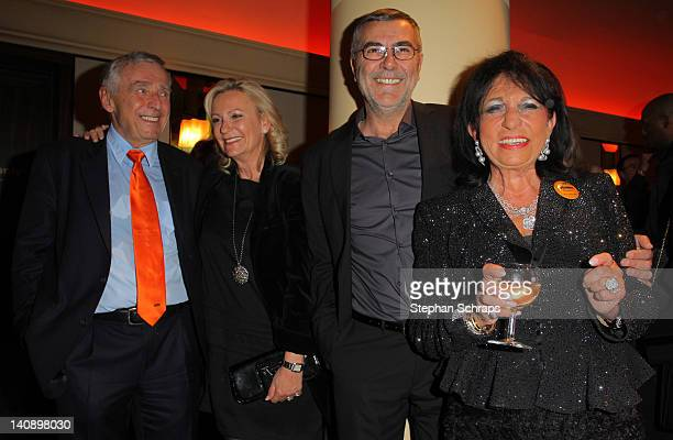 Owners Erich Sixt and Regine Sixt with joined by Sabine Christiansen and Norbert Medus at the 'Goya' Club at Nollendorfplatz at the celebrationparty...
