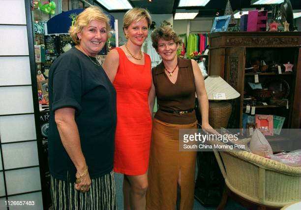 Owners of The Piazza on 9 Chui Lung Street Central LR Rhonda Gretton Vicki Ozorio and Hilary Schwartz 13 jul 98