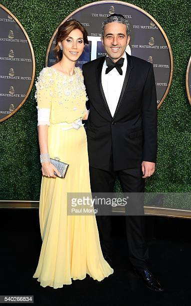 Owners of The Watergate Hotel Rakel Cohen and Jacques Cohen at the grand reopening party of the iconic Watergate Hotel on June 14 2016 in Washington...