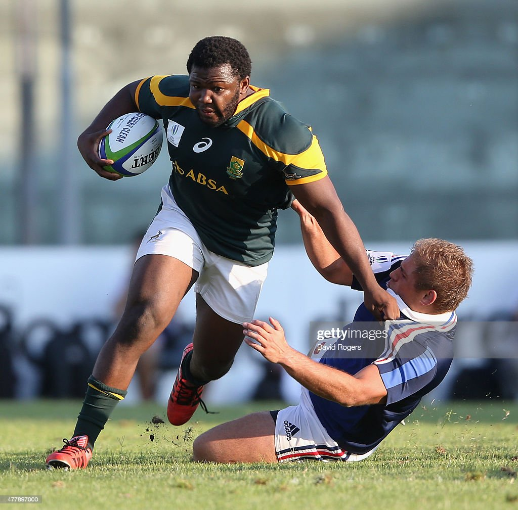 France v South Africa - World Rugby U20 Championship 2015 3rd Place Play-Off : News Photo