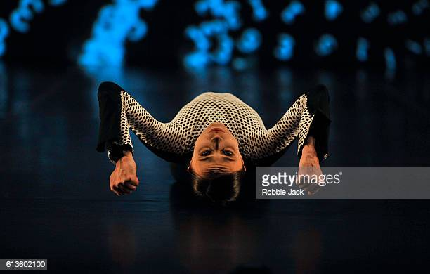 Oxana Panchenko in tne Michael Clark Company's production of Michael Clark's to a simple rock 'n' roll song at the Barbican Centre on October 7 2016...