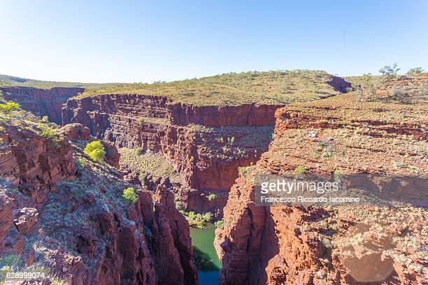 oxer lookout, karijini national park, western australia - francesco riccardo iacomino australia foto e immagini stock