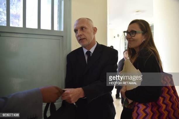 Oxfam Regional Director for Latin America and the Caribbean Simon Ticehurst and Oxfam Intermon Executive Affiliate Unit head Margalida Massotleave...