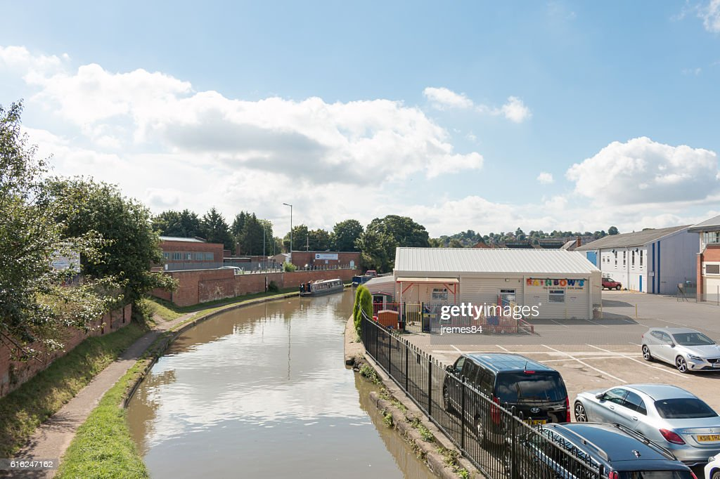 Oxford Canal : Foto de stock
