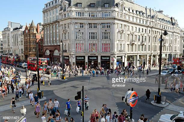 Oxford Circus, central London shopping district