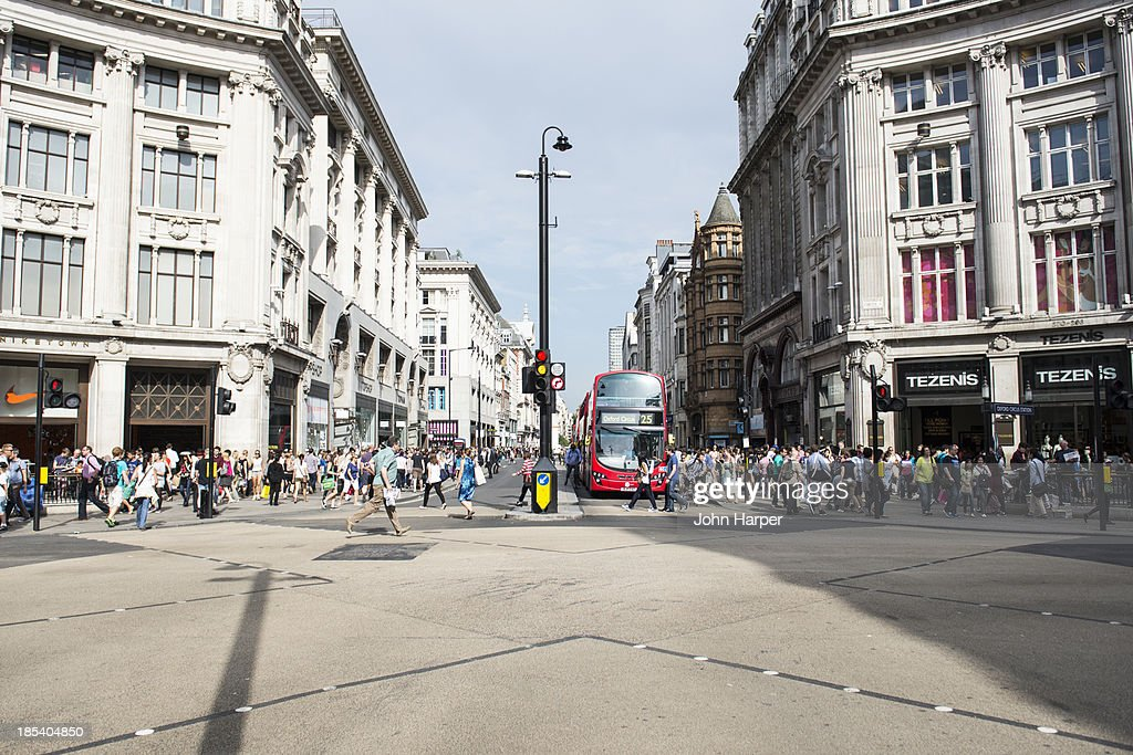 Oxford Circus, London, UK : Stock Photo