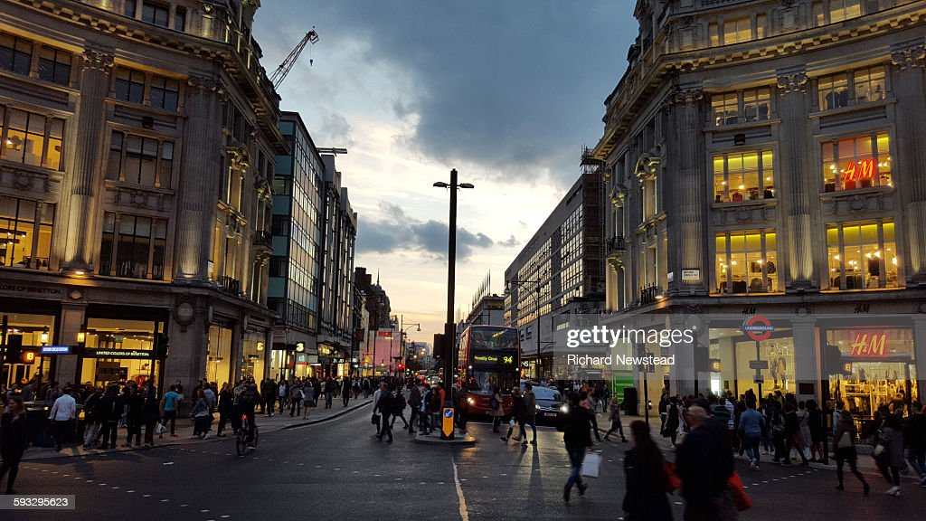 Oxford Circus : Stock Photo
