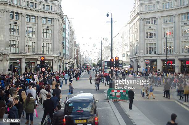 oxford circus - kathy west stock pictures, royalty-free photos & images