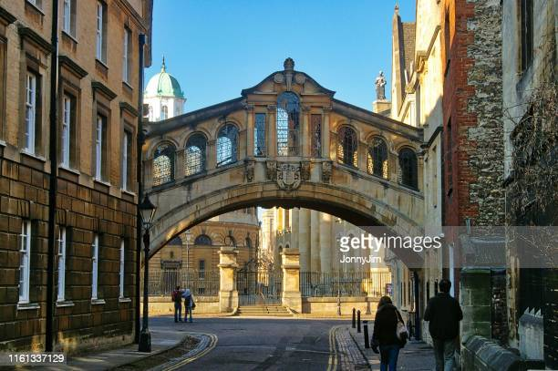 oxford, england, the bridge of sighs,  new college lane - oxfordshire stock pictures, royalty-free photos & images