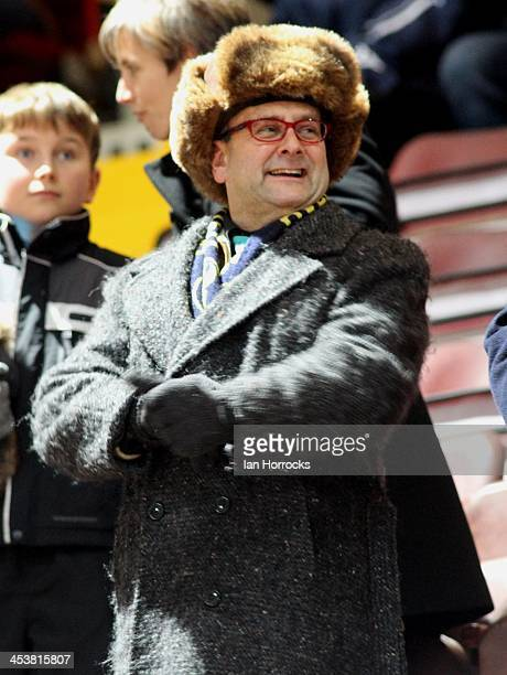 Oxford fan Timmy Mallet during the FA Cup with Budweiser first round replay match between Gateshead and Oxford United at Gateshead International...