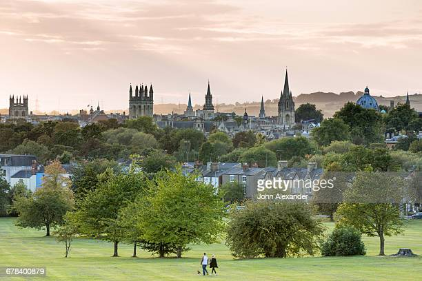 oxford from south park, oxford, oxfordshire, england, united kingdom, europe - oxford university stock pictures, royalty-free photos & images