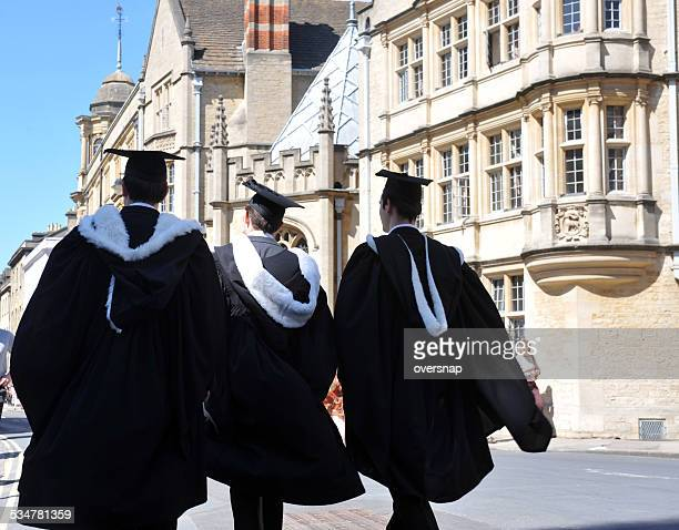 oxford graduation - oxford university stock pictures, royalty-free photos & images