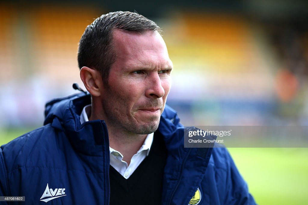 Oxford manager Michael Appleton during the Sky Bet League Two match between Cambridge United and Oxford United at The Abbey Stadium on October 11, 2014 in Cambridge, England.