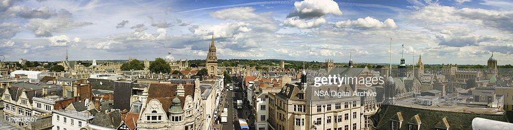 Oxford Panoramic View : Stock Photo