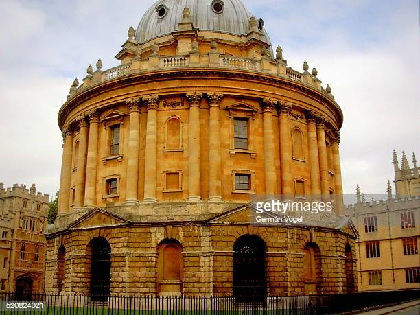 Oxford Radcliffe camera Science library