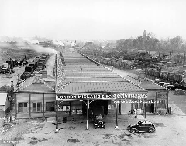 Oxford Rowley Road Station 1 May 1940 This station was built by the London Midland and Scottish Railway to serve the Buckinghamshire Railway's line...