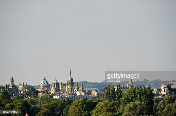 oxford  spires - oxford england stock pictures, royalty-free photos & images