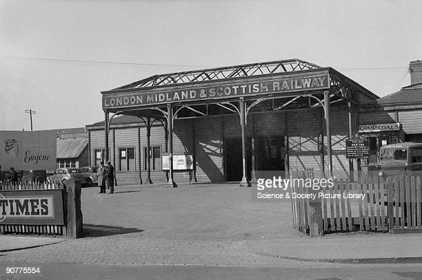 Oxford station Oxford 25 March 1949