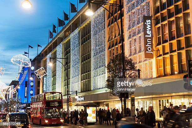 Oxford Street at Christmas, London