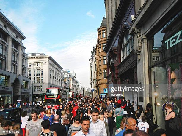 oxford street - oxford street london stock pictures, royalty-free photos & images