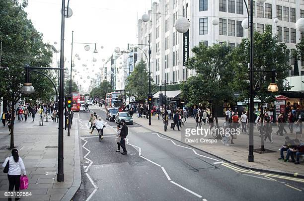 oxford street - high up stock photos and pictures