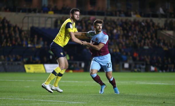 Oxford United v West Ham United - Carabao Cup Third Round