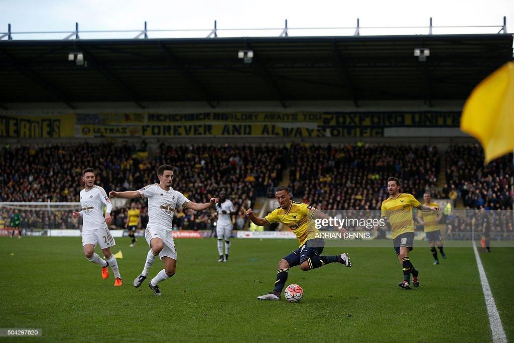 FBL-ENG-FACUP-OXFORD-SWANSEA : News Photo