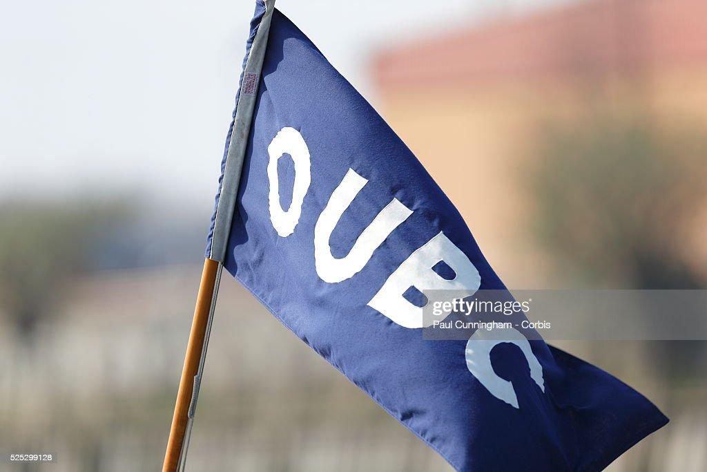Oxford University Boat Club (OUBC) during Tideway week : News Photo