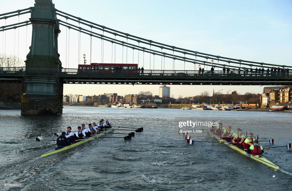Oxford University Boat Club v Oxford Brookes University: Boat Race Trials