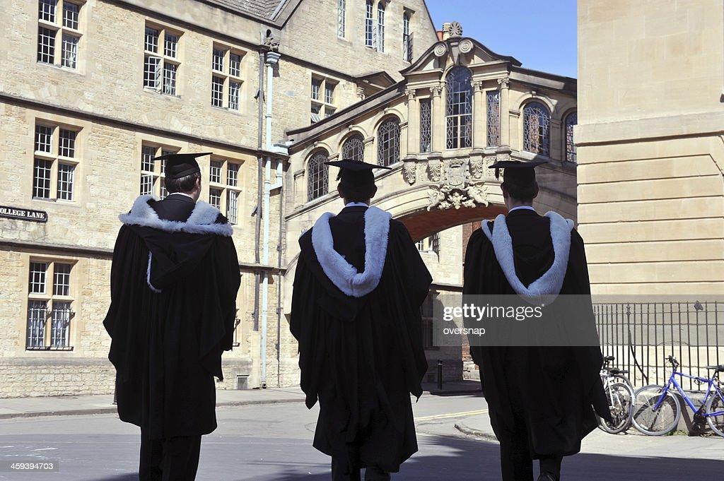 Oxford University Silhouettes : Stock Photo